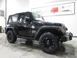 Used 2013 Jeep Wrangler Sport Manuelle **4X4**MAGS**CRUISE** for sale in Mirabel, QC
