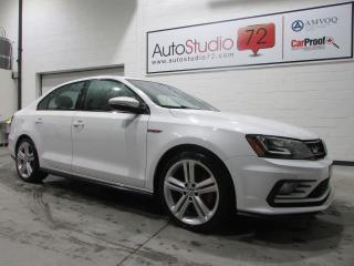 Used 2017 Volkswagen Jetta GLI Autobahn 2.0 TSI Manuelle **NAVI**CU for sale in Mirabel, QC
