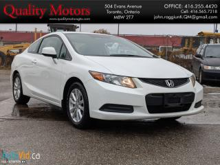 Used 2012 Honda Civic EX for sale in Etobicoke, ON