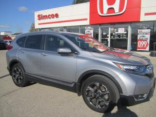 Used 2017 Honda CR-V Touring for sale in Simcoe, ON