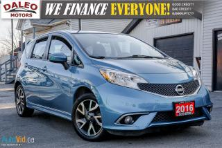 Used 2016 Nissan Versa Note SR | BACK-UP CAMERA | BLUETOOTH for sale in Hamilton, ON