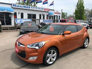 Used 2015 Hyundai Veloster Coupe- ACCIDENT FREE- WE FINANCE for sale in Stoney Creek, ON
