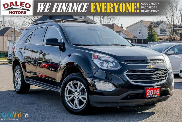 2016 Chevrolet Equinox LT / AWD / HEATED SEATS / BLUETOOTH / BACK-UP CAM