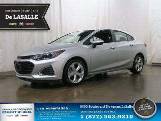 Used 2019 Chevrolet Cruze PREMIER, Cuir, bluetooth, camera de recule PREMIER, Cuir, bluetooth, camera de recule for sale in Lasalle, QC