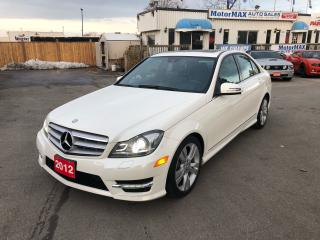 Used 2012 Mercedes-Benz C-Class C300- AWD- ACCIDENT FREE- WE FINANCE for sale in Stoney Creek, ON