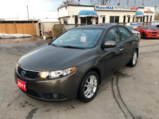 Used 2011 Kia Forte EX- ACCIDENT FREE- WE FINANCE for sale in Stoney Creek, ON