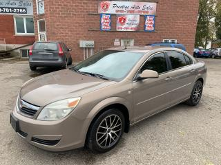 Used 2008 Saturn Aura XE/2.4L/LOW KILOMETRES/SAFETY INCLUDED for sale in Cambridge, ON