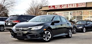 Used 2017 Honda Civic LX | Certified HONDA SENSING | ADAPTIVE CRUISE | BACK-UP CAM | BLUETOOTH | HEATED SEATS for sale in Mississauga, ON