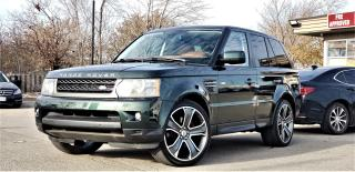 Used 2011 Land Rover Range Rover Sport 5.0L V8|HSE LUXURY|CERTIFIED| NAVI | SUNROOF | BLUETOOTH | HEATED FRONT & REAR SEATS | FULLY LOADED for sale in Mississauga, ON