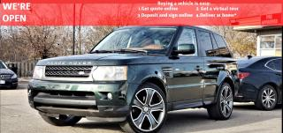 Used 2011 Land Rover Range Rover Sport LUXURY 5.0L V8|VIDEO.CALL.US| |HSE LUXURY|CERTIFIED|NAV|SUNROOF|BLUETOOTH | HEATED FRONT&REAR SEATS| for sale in Mississauga, ON