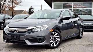Used 2018 Honda Civic EX Honda Sensing SUNROOF|CERTIFIED | ALLOYS | BACK-UP & SIDE CAMERA | ADAPTIVE CRUISE | HEATED SEATS for sale in Mississauga, ON