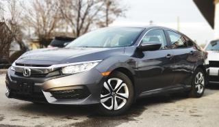 Used 2017 Honda Civic LX | Certified BACK-UP CAM | BLUETOOTH | HEATED SEATS for sale in Mississauga, ON