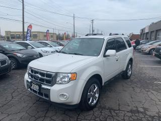 Used 2009 Ford Escape Limited for sale in Hamilton, ON