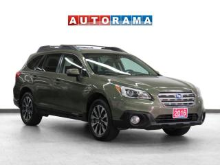Used 2016 Subaru Outback Limited 4WD Navigation Leather Sunroof Backup Cam for sale in Toronto, ON