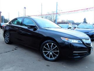 Used 2015 Acura TLX SH-AWD V6.Navigation.Camera.Acura Sense.FullOption for sale in Kitchener, ON
