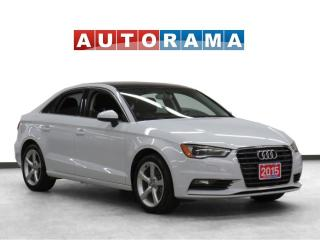 Used 2015 Audi A3 Leather Sunroof Backup Cam for sale in Toronto, ON