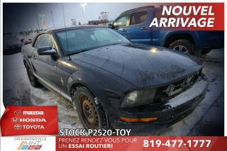 Used 2006 Ford Mustang CONVERTIBLE| CUIR| V6| for sale in Drummondville, QC