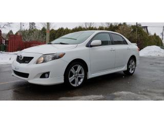 Used 2010 Toyota Corolla *TOIT*CRUISE*A/C* 50$/SEM for sale in St-Jérôme, QC