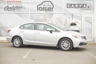 Used 2014 Honda Civic LX 2015 AU PRIX D UN for sale in Québec, QC