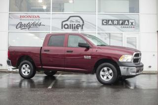 Used 2016 RAM 1500 SXT 4X4 CREWCAB***JAMAIS ACCIDENTE*** for sale in Québec, QC