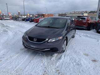 Used 2015 Honda Civic 4 portes, boîte manuelle, LX for sale in Rivière-Du-Loup, QC