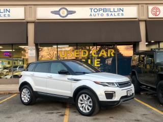 Used 2017 Land Rover Range Rover Evoque 4WD, Navi, Pano Roof, Only 46K for sale in Vaughan, ON