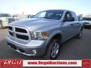 Used 2017 RAM 1500 Outdoorsman Crew Cab 4WD 5.7L for sale in Calgary, AB