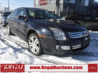 Used 2008 Ford Fusion SEL 4D Sedan AWD for sale in Calgary, AB