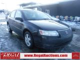 Photo of Black 2007 Saturn ION MIDLEVEL 4D SEDAN 2WD