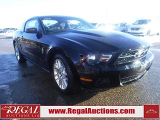 2012 Ford Mustang 2D Coupe