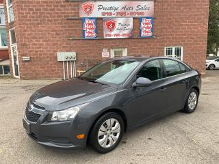Used 2013 Chevrolet Cruze 1.4T/2 SETS OF TIRES/NO ACCIDENT/SAFETY INCLUDED for sale in Cambridge, ON