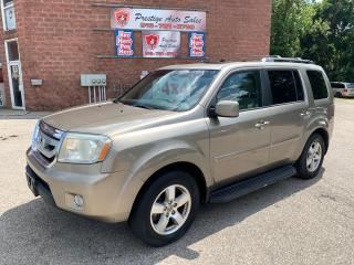Used 2011 Honda Pilot 4WD/8 SEATS/ONE OWNER/NO ACCIDENT/SAFETY INCLUDED for sale in Cambridge, ON