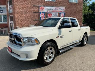Used 2016 RAM 1500 Limited/ECODIESEL/4X4/CREW CAB/ONE OWNER/CERTIFIED for sale in Cambridge, ON