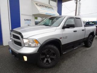 Used 2016 RAM 1500 SLT 4x4, Quad Cab 6.6 Box, Rim/Tire Package!! for sale in Langley, BC