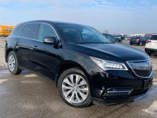 Used 2016 Acura MDX SH-AWD.Nav Pkg.Navi.Camera.BlindSpot.Radar Cruise for sale in Kitchener, ON