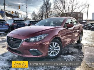 Used 2016 Mazda MAZDA3 GS ALLOYS  HEATED SEATS  BACKUP CAMERA for sale in Ottawa, ON