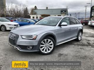 Used 2015 Audi A4 Allroad 2.0T Komfort LEATHER  PANO ROOF  HEATED SEATS for sale in Ottawa, ON