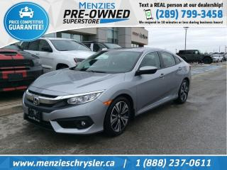 Used 2017 Honda Civic Sedan EX-T for sale in Whitby, ON