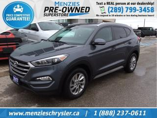 Used 2017 Hyundai Tucson Premium AWD, Cam, One Owner, Accident Free for sale in Whitby, ON
