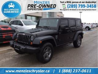 Used 2011 Jeep Wrangler Unlimited Rubicon for sale in Whitby, ON