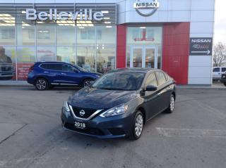 Used 2018 Nissan Sentra S AUTOMATIC, LOW LOW KMS for sale in Belleville, ON