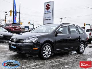 Used 2013 Volkswagen Golf Wagon Trendline ~Heated Seats ~Alloy Wheels for sale in Barrie, ON