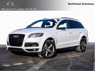 Used 2014 Audi Q7 3.0L TDI Progressiv S LINE for sale in Concord, ON