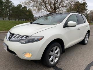 Used 2010 Nissan Murano AWD 4DR for sale in Mississauga, ON