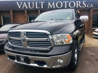 Used 2016 RAM 1500 4WD Crew Cab Big Horn Edition ECO Diesel NO ACCIDENTS for sale in Brampton, ON