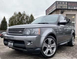 Used 2010 Land Rover Range Rover SPORT SUPERCHARGED for sale in Scarborough, ON