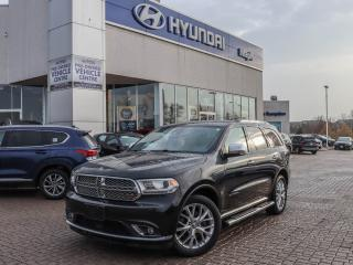 Used 2014 Dodge Durango Citadel for sale in Maple, ON
