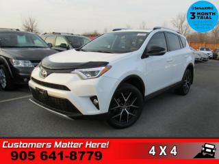 Used 2016 Toyota RAV4 SE  AWD NAV CAM LEATHER SUNROOF HS BT for sale in St. Catharines, ON