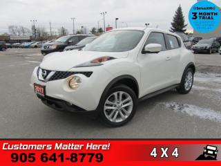 Used 2017 Nissan Juke SV  AWD NAV ROOF LEATH 360-CAM PARK-SENS for sale in St. Catharines, ON