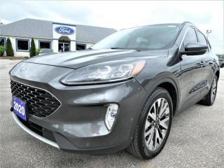 Used 2020 Ford Escape Titanium Hybrid | Blind Spot Monitor | Navigation | Heated Seats for sale in Essex, ON
